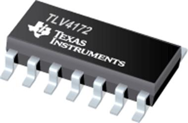 德州仪器TLV4172